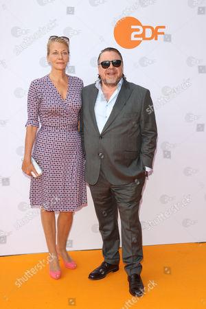Armin Rohde mit Freundin,..