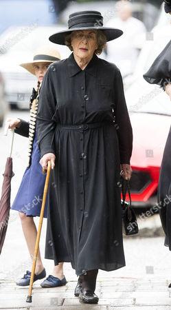 Editorial picture of Countess Mountbatten of Burma funeral, St Paul's Church, Knightsbridge, London, UK - 27 Jun 2017