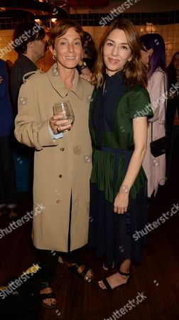 Stock Picture of Phoebe Philo and Sofia Coppola