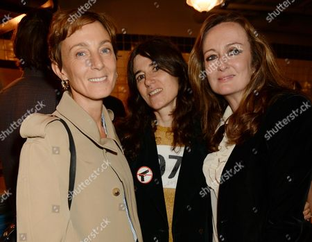 Phoebe Philo, Bella Freud and Lucy Yeomans