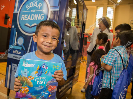 Editorial image of Soar with Reading Launch Event, Fort Lauderdale, USA - 27 Jun 2017