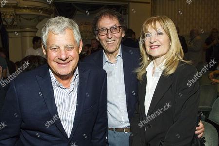 Cameron Mackintosh, Don Black and Shirley Black