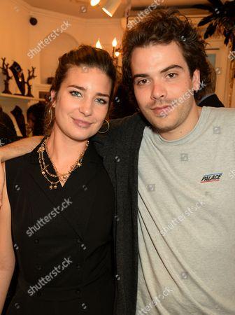 Stock Photo of Nettie Wakefield and Ben Kustow