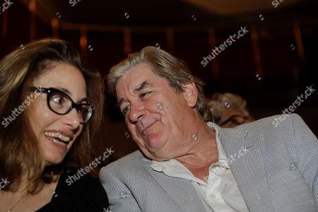 Stock Picture of British writer Patrick McGrath attends 'La Milanesiana' cultural event, in Milan, Italy
