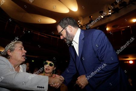 Editorial picture of Patrick McGrath, Milan, Italy - 27 Jun 2017
