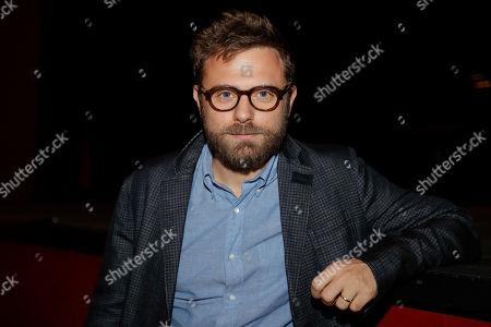 Italian writer Paolo Giordano attends 'La Milanesiana' cultural event, in Milan, Italy