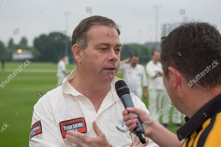 Team Captain Nigel Adams MP at Lashings All Stars vs House Of Commons & Lords