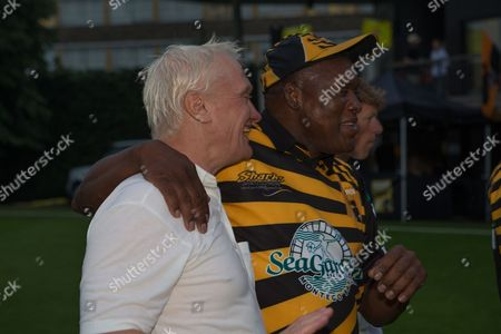 Stock Picture of Graham Stuart MP & Devon Malcolm at Lashings All Stars vs House Of Commons & Lords