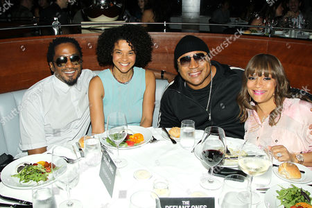Stock Photo of Q-Tip, Michelle Daves, LL Cool J, Simone Smith