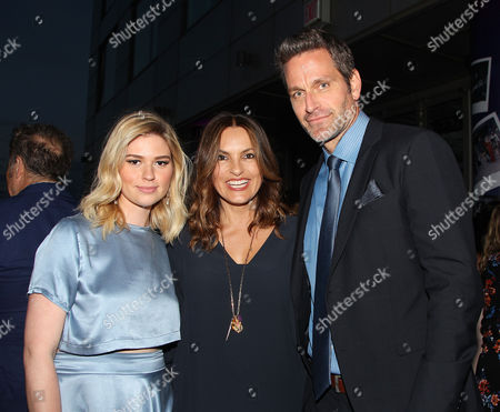 Fiona Robert, Mariska Hargitay and Peter Hermann