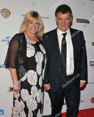 Stock Picture of Sue Vertue and Steven Moffat