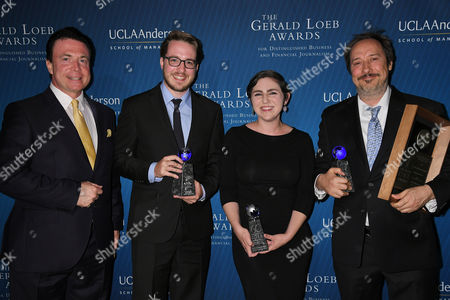 Stock Photo of Frank Mottek, Joe Fox, Emily Alpert, David Zahniser