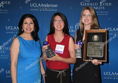Editorial photo of Gerald Loeb Awards, New York, USA - 27 Jun 2017