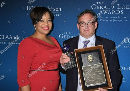 Editorial picture of Gerald Loeb Awards, New York, USA - 27 Jun 2017