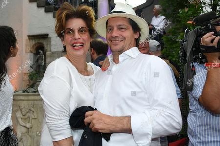Fritz Karl mit Ehefrau Elena Uhlig