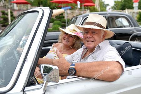 Graham Bonney and wife Iris