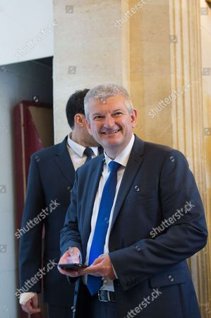 Olivier Falorni at the French national assembly in Paris, as France's new parliament is to sit for the first time