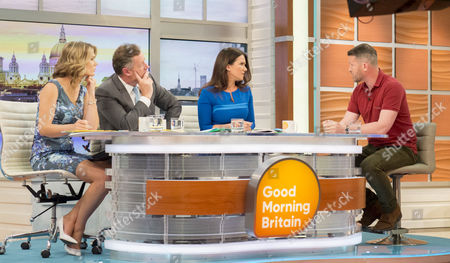 Editorial image of 'Good Morning Britain' TV show, London, UK - 28 Jun 2017