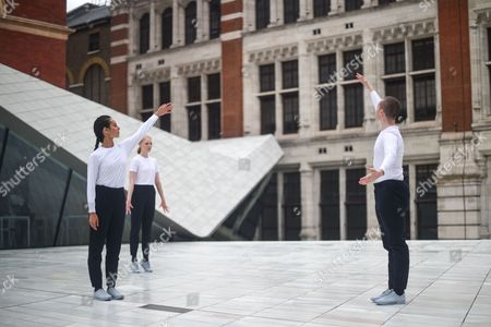 Editorial photo of 'Sackler Courtyard' unveiling, V&A Museum, London, UK - 28 Jun 2017