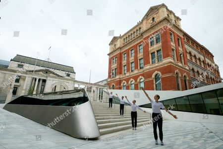 Editorial picture of 'Sackler Courtyard' unveiling, V&A Museum, London, UK - 28 Jun 2017