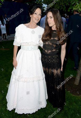 Stock Photo of Amanda Harlech and Tallulah Harlech