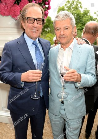 Stock Image of Richard Desmond and Alan Edwards