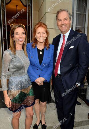 Sarah Ferguson Duchess of York, Heather Kerzner and Harry Herbert