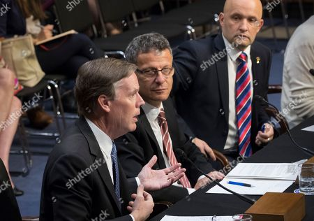 Nicholas Burns, Janis Sarts, Vesko Garcevic From left, former Ambassador Nicholas Burns; Janis Sarts, director of the NATO Strategic Communication Center of Excellence; and Vesko Garcevic of Boston University, testify on Capitol Hill in Washington, as the Senate Intelligence Committee conducts a hearing on Russian intervention in European elections in light of revelations by American intelligence agencies that blame Russia for meddling in the 2016 U.S. election