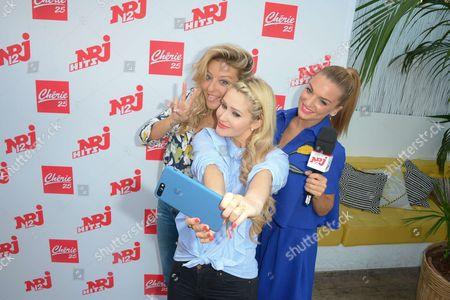 Emilie Picch, Tatiana-Laurens Delarue and Fiona Deshayes