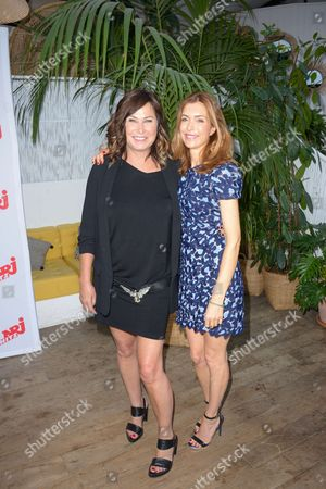 Evelyne Thomas and Veronique Mounier
