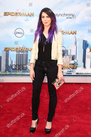 Editorial photo of 'Spider-Man: Homecoming' film premiere, Arrivals, Los Angeles, USA - 28 Jun 2017
