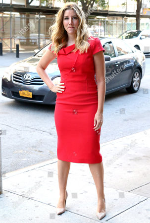 Editorial image of Sara Blakely out and about, New York, USA - 28 Jun 2017
