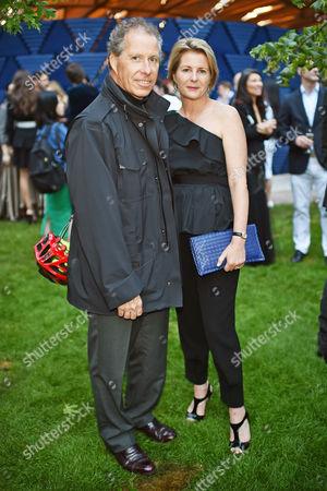 Viscount David Armstrong-Jones and Viscountess Serena Armstrong-Jones
