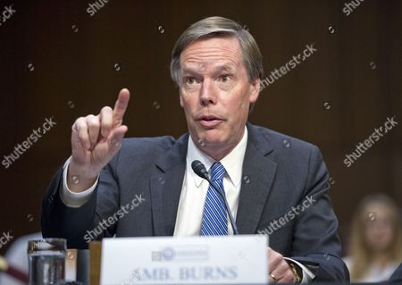 Ambassador Nicholas Burns, Roy and Barbara Goodman Family Professor of the Practice of Diplomacy and International Relations, Harvard Kennedy School of Government, gives testimony