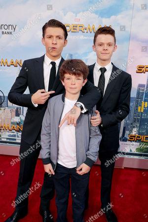 Tom Holland, Sam Holland, Harry Holland