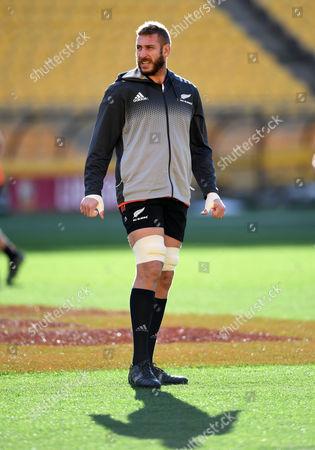Luke Romano - New Zealand lock.