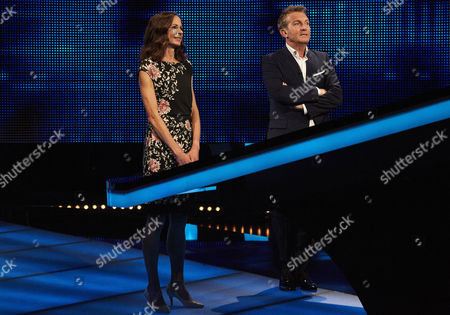 Joanne Pavey and host Bradley Walsh face The Chaser