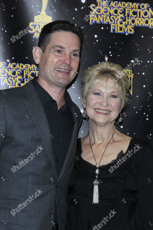 US actor Henry Thomas and his co star from ET Dee Wallace pose at the 43rd Annual Saturn Awards held at The Castaway in Burbank, California, USA, 28 June 2017. (issued 29 June) The Saturn Awards honors the best in science fiction, fantasy, horror and other genres in film, television, home media releases, and theatre
