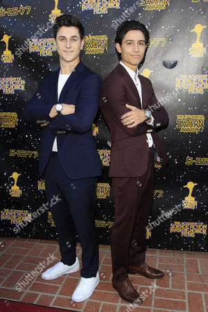 US actors David Henrie, Lorenzo Henrie (L-R) arrive for the 43rd Annual Saturn Awards held at The Castaway in Burbank, California, USA, 28 June 2017. (issued 29 June) The Saturn Awards honors the best in science fiction, fantasy, horror and other genres in film, television, home media releases, and theatre