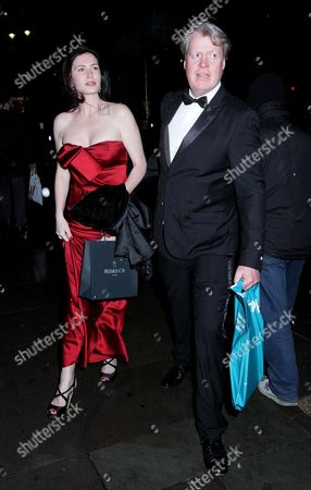 Editorial picture of Earl Spencer and Lady Spencer out and about, London, UK - 28 Mar 2017