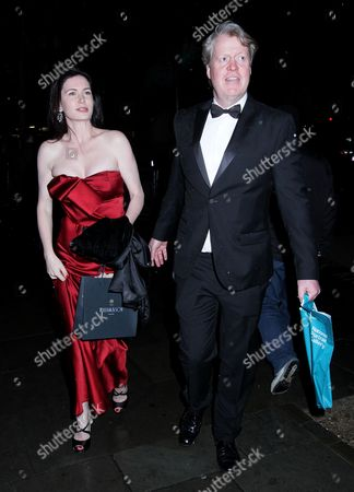 Stock Picture of Earl Spencer and Lady Spencer