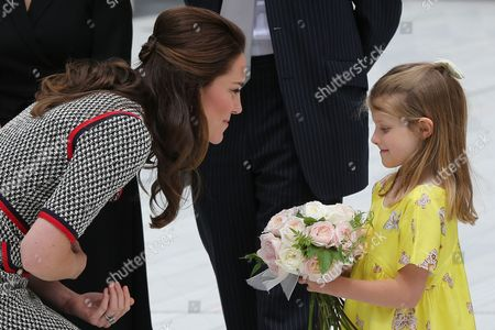 Catherine Duchess of Cambridge and directors daughter 6 yr old Lydia Hunt