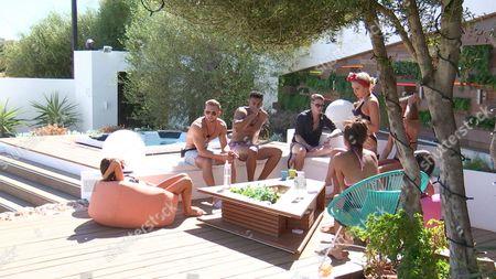 Editorial photo of 'Love Island' TV show, Mallorca, Spain - 29 Jun 2017