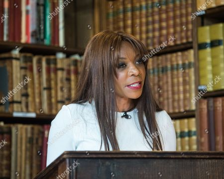 Editorial image of Dambisa Moyo at the Oxford Union, UK - 11 May 2017