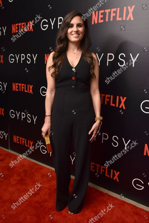 Editorial photo of 'Gypsy' film screening, Arrivals, New York, USA - 29 Jun 2017