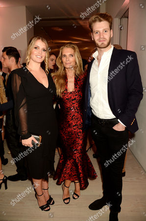 Lady Kitty Spencer, Viscount Althorp and Victoria Aitken