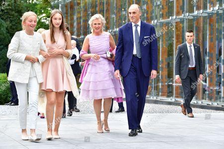 Princess Louise , Princess Luisa Maria , Prince Lorenz , Princess Astrid