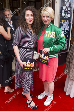Stock Image of Natalie Casey and Jackie Clune