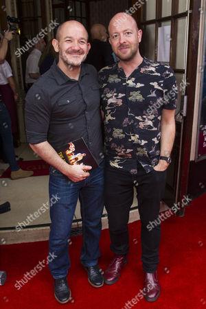 Stock Photo of Steven Hoggett and John Tiffany