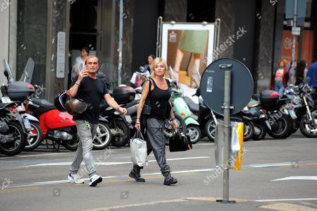 Luca Cerri and Paola Barale